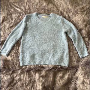 Forever 21 Baby Blue Sweater